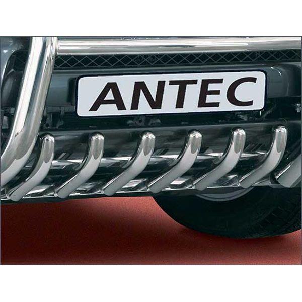 Antec 10Z4014 Antec inox front bumper protection 42mm for Rav4  (06-13) -EU -cert
