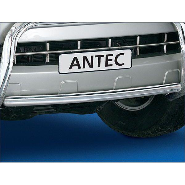 Antec 11E4041 Antec inox horizontal pipe 42mm for Hilux  (06-12) certificate under conditions -EU -cert