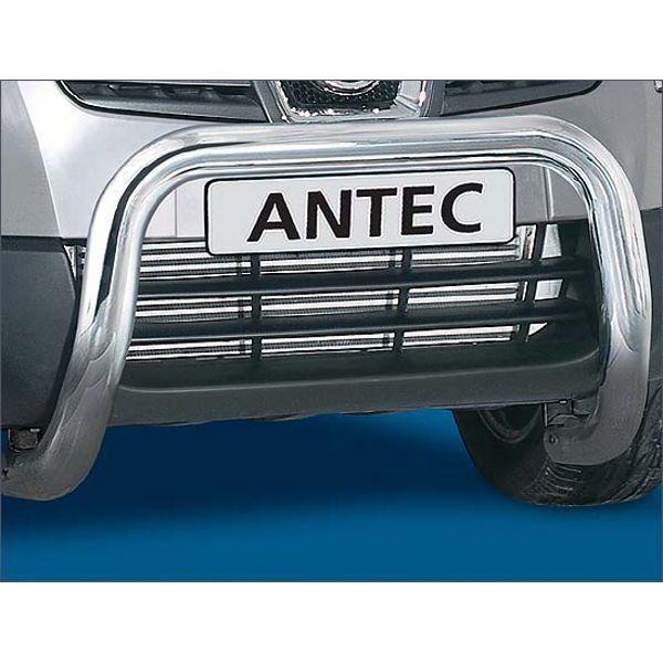Antec 11F4113 Antec inox bullbar 70mm for Qashqai (07-10) -EU-cert.