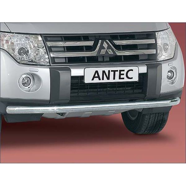 Antec 11P4016 Antec inox front bumper protection 60mm for Pajero (07-) -EU-cert.