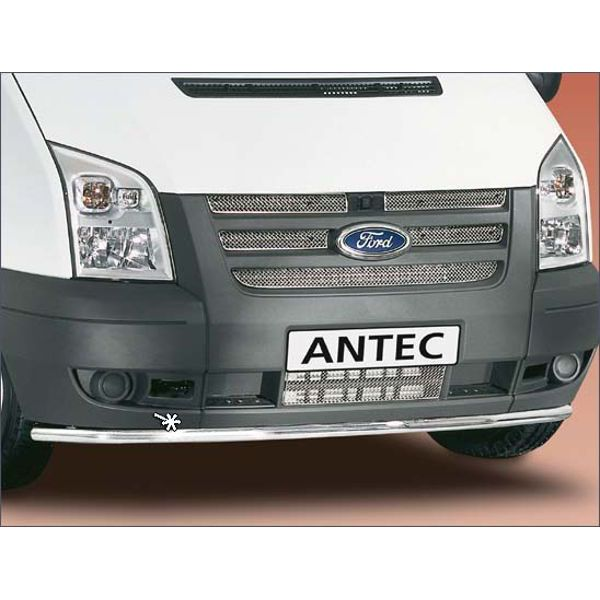 Antec 11W4016 Antec inox front bumper protection 42mm for Transit (06-)