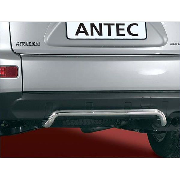 Antec 11Y4138 - 12D4138 Antec inox rear bumper protection 42mm for Mitsubishi/Peugeot Outlander/4007 (07-10)