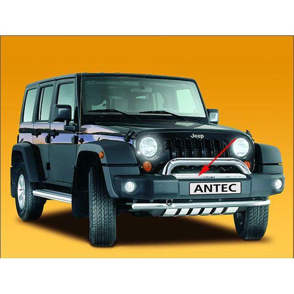 Antec 12C4088 Antec Inox Trim Jeep Wrangler '07 3+5 doors  (front)