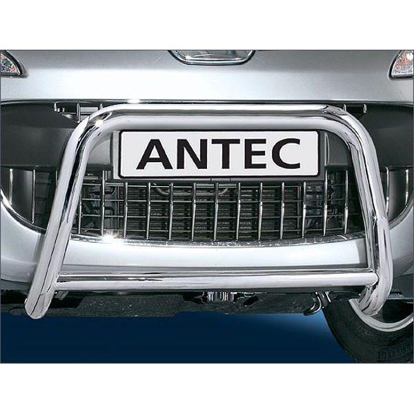 Antec 12D4313 Antec inox bullbar with crosspipe 60mm+42mm for 4007 (07-) -EU-cert.
