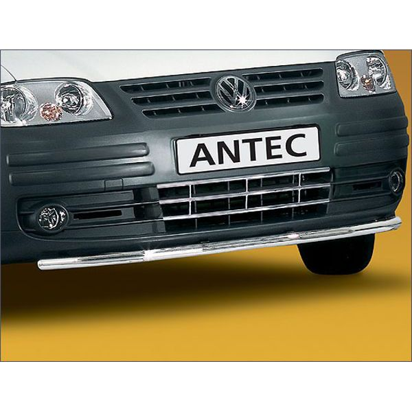 Antec 12E4016 Antec inox front bumper protection 42mm for Caddy/Transporter (04-10) -EU-cert.