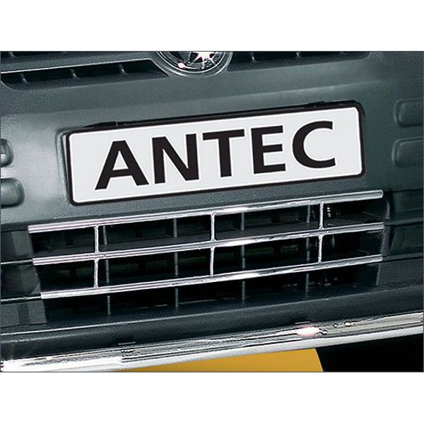 Antec 12E4185 Antec inox grill 16mm for Caddy/Transporter (04-10) -EU-cert.