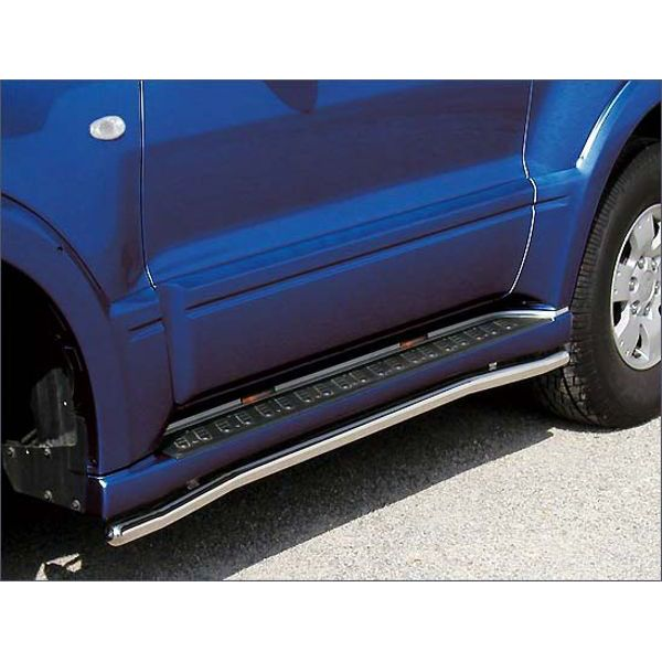 Antec 1454375 Antec inox sidebar with steps for Pajero V60 (03-)  (clearance sales!)
