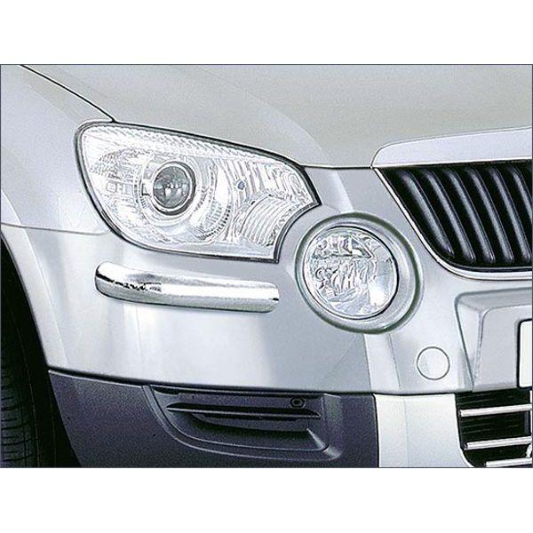 Antec 14K4081 Antec inox front bumper protection for Yeti  (09-13) -EU -cert