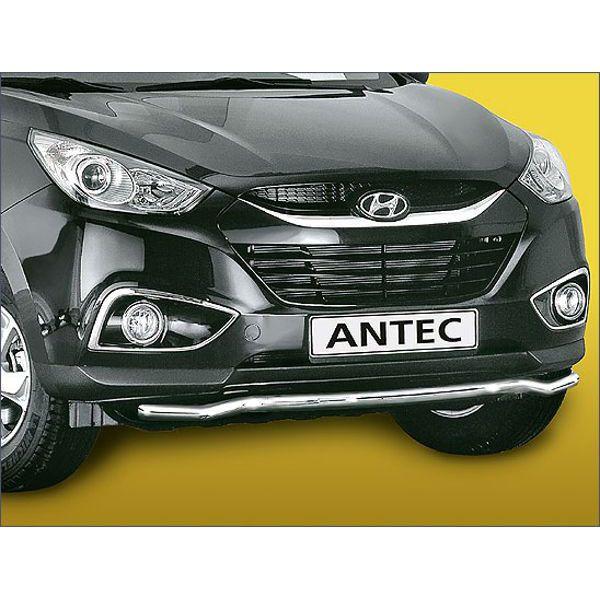 Antec 14L4016 Antec inox front bumper protection 42mm for IX35 (10-)
