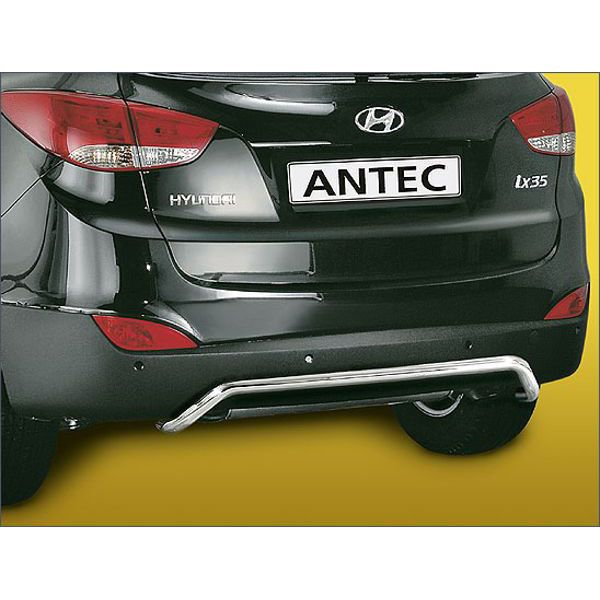 Antec 14L4134 inox rear bumper protection 38mm for Hyundai IX35 (10-)