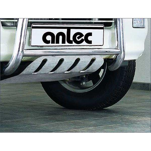 Antec 1934014 Antec front skidplate(s) inox for Isuzu DMax (04-07) EU-cert.