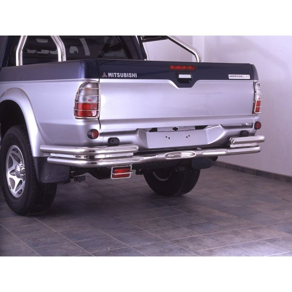 Antec 1226537 inox rear bumper protection (clearance sales) for Mitsubishi L200 - Clearance sales