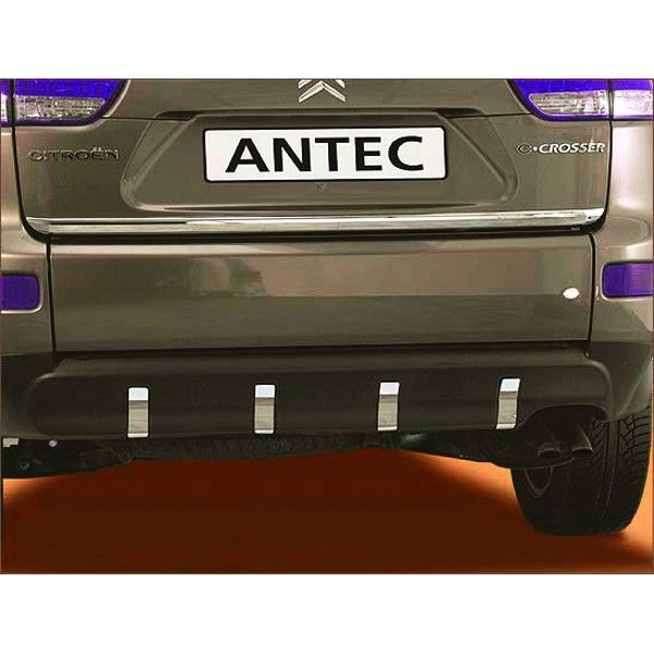 Antec 12D4015 Antec front skidplate(s) aluminium for Mitsubishi Outlander (10-12) EU-cert.