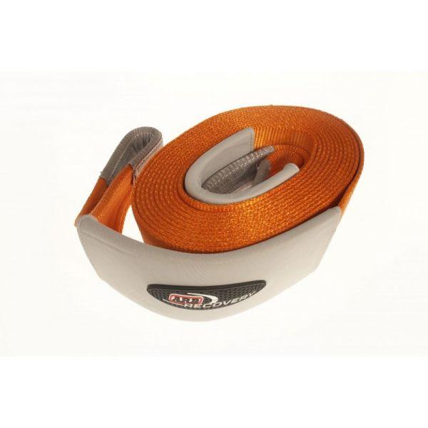 ARB ARB705 ARB snatch strap-9m x60mm (kinetic) breaking strenght: 8000kgs (orange)