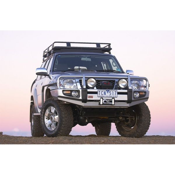 ARB 3417300 ARB Deluxe winchbumper for Patrol Y61 (04-) with fenders