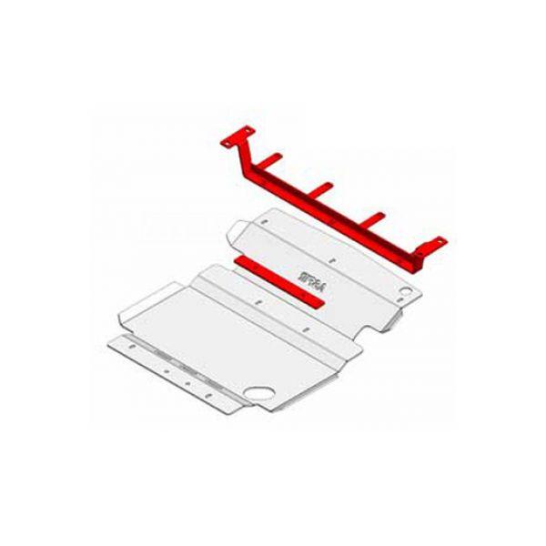Asfir 29-508057 Asfir front skidplate(s) for Nissan D40