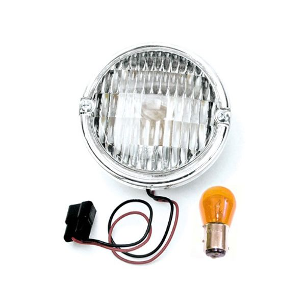 Jeep accessories Spares & acc. Jeep Acc 0828.01 radiator grill lamp for Jeep CJ 76-86