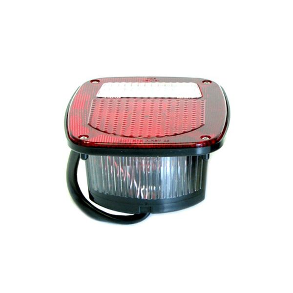 Jeep accessories Spares & acc.: 0831.01 red rear tail light  for Jeep CJ 76-86