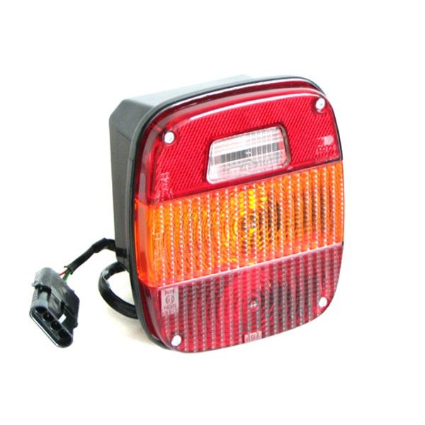 Jeep accessories 0833.01 Jeep accessories rear tail lamp- Wrangler CJ 76-86 -euro style