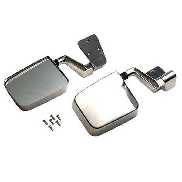 Jeep accessories 1510.14 inox Mirror set for Jeep Wrangler (87-95)