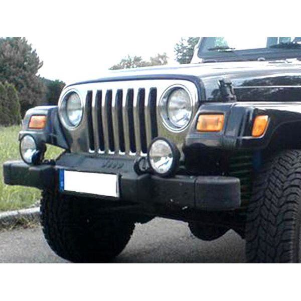 Jeep accessories 1514.20 inox Grill cover for Jeep Wrangler TJ (97-06)