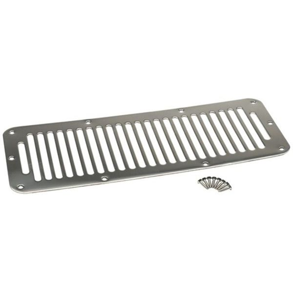 Jeep accessories Spares & acc.: 1516.01 hood vent  for Jeep Wrangler YJ 87-95  inox
