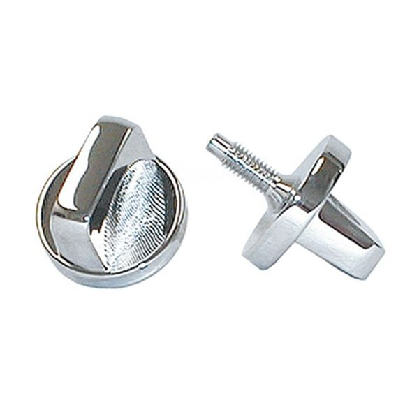 Jeep accessories Spares & acc.: 1561.01 windshield frame knobs for Jeep CJ 76-86  inox