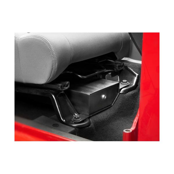 Jeep accessories 42642-01 seat storage for Jeep Wrangler JK (07-16) (passenger seat)