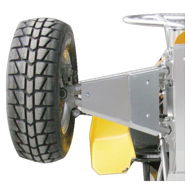 ATX Quad SUZAA02AL Atx A-Arm Skid Plate (Set) Suzuki Ltr450  (Asp-195)