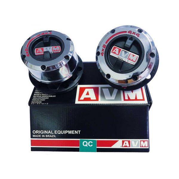 AVM 410 AVM Free wheel hub for Beijing/GAZ -SP10/6 bolts/89,8mm