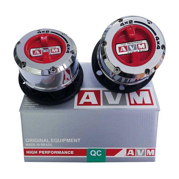 AVM 445HP AVM Free wheel hub (silver box) -SP31/6 bolts/90mm