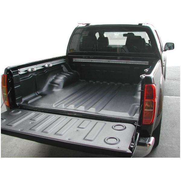 Bedliner L1543 bedliner underrail for Nissan NP300 DC with C-channels