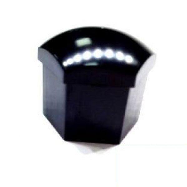 Bimecc B70002 Nut/Bolt Cover H19 Black no key (set of 1)