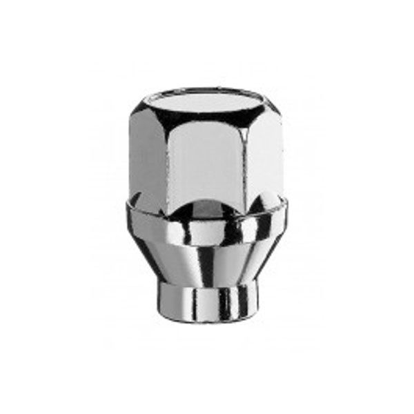 Bimecc D41 Nut M12X1.25 cone 60° H19 TL34mm closed Shank (L6xW15.7)