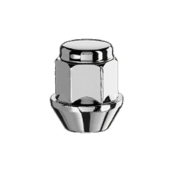 Bimecc D30 Nut M12X1.5 cone 60° H19 inox cap TL30mm closed