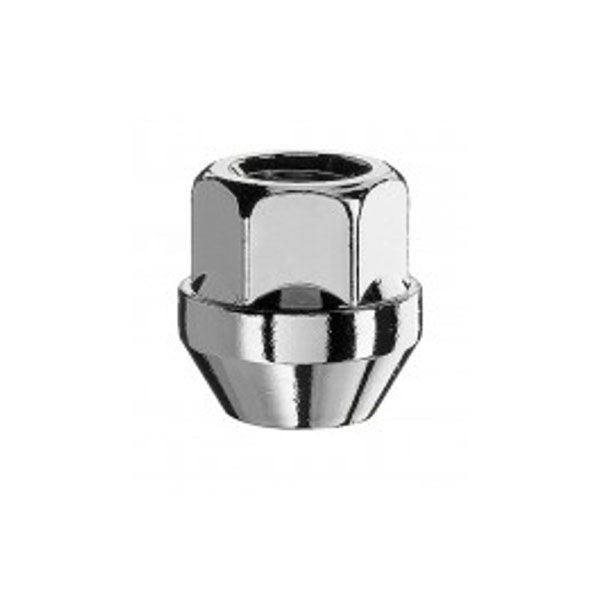 Bimecc D23 Nut M12X1.25 cone 60° H19 TL25mm open