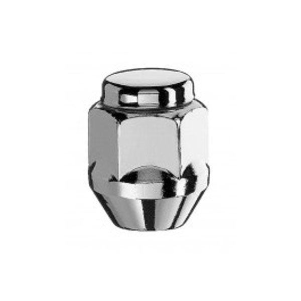 Bimecc D51 Nut M12X1.25 cone 60° H21 inox cap TL30mm closed