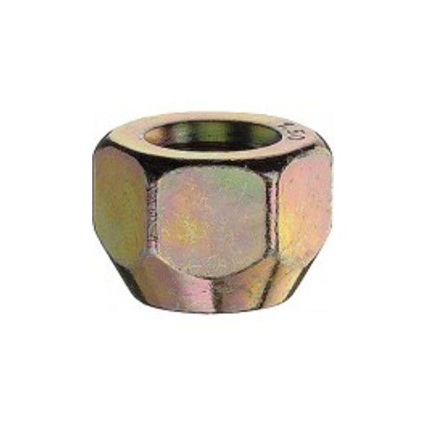Bimecc DNIS Nut M12X1.25 cone 60° H21 under cap fitment TL16mm open yellow