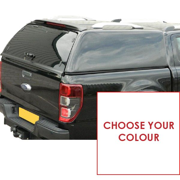 Carryboy hardtop Carryboy Commercial for Ford Ranger DC (12-18) in color -no windows -with central locking