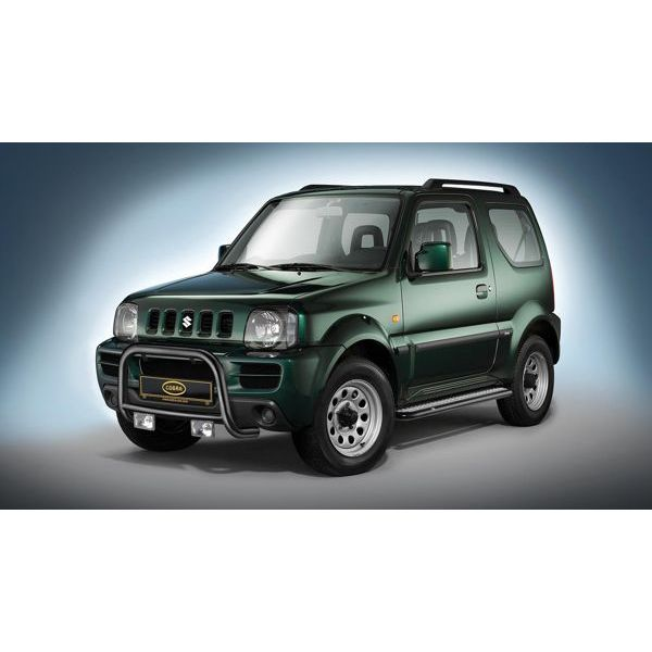 Cobra SU2224 Cobra black steel sidestep for Jimny (98-18)
