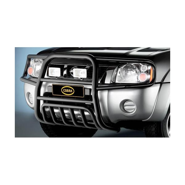 Cobra NIS1480 Cobra black steel bullbar 60mm for Pick Up (D22+NP300) (02- 08) -no EU-cert.