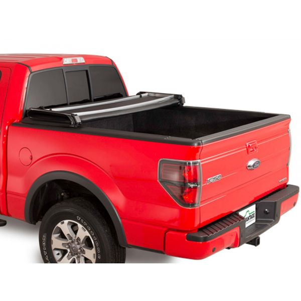Atraxion soft folding tonneau cover in black for L200 DC (06-09) - Torzatop