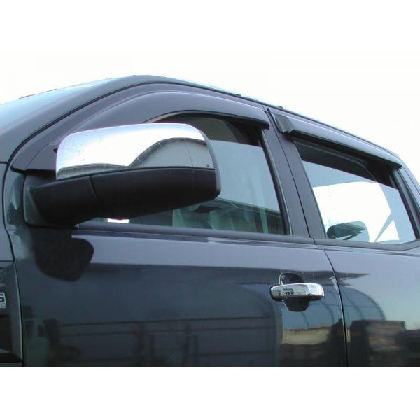 Trux NAVARA-15DBLWDQD winddeflectors for Nissan NP300 DC  (set of 4)