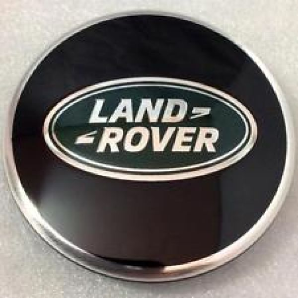 OE Landrover Cap Alu 117mm BLACK (no steels!) Land Rover (DA2476)