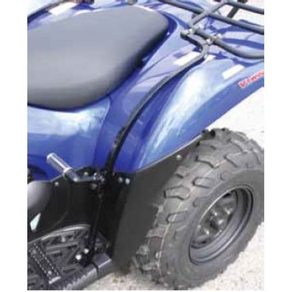 Quadrax 15-960-160 Quadrax Rear fender protection Incl. footrests in Black for Yamaha Grizzly YFM600 98-01