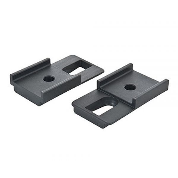 Rhino Rack PLHSPAIR Rhino Rack Pioneer black adapter pair