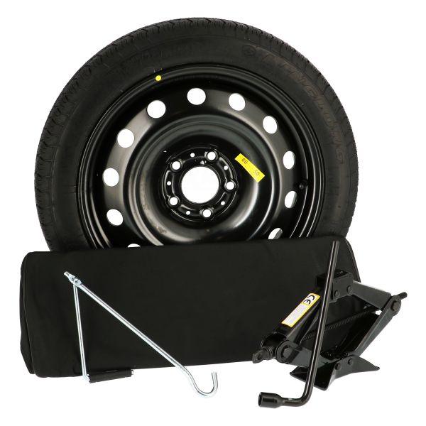 Sparewheel kit R005D Sparewheel kit  115/70-15 + steel wheel 4x15 4x98 CTR58.1 incl.jack P3 + key 17
