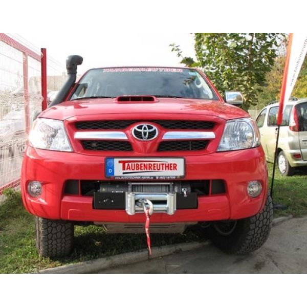 Taubenreuther 16-5820 hidden winchmount  for Hilux (05-15)  (incl cover for hook)