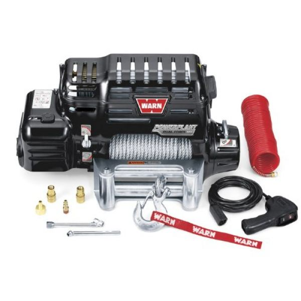 Warn 4x4 091800 winch Warn Powerplant HP 9.5 12V-4300kgs-steel cable 38m/8mm (remote=wired)