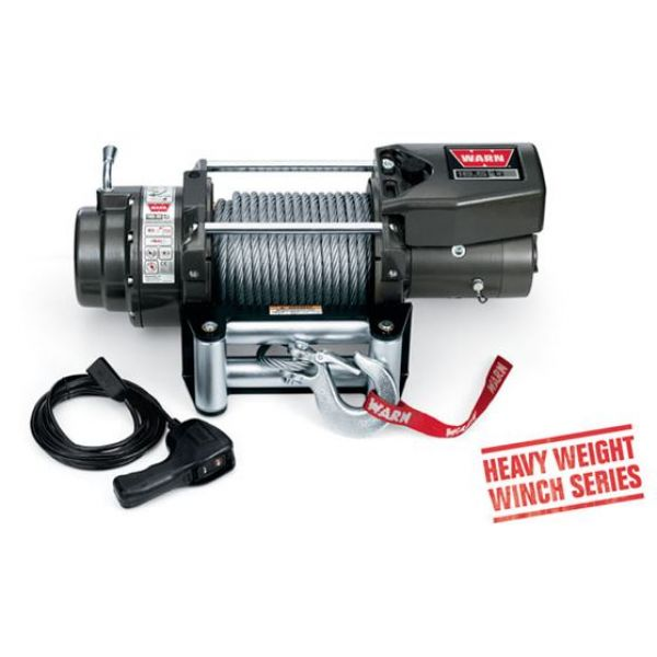 Warn 4x4 068801 winch Warn 16.5 Ti 12V-7500kgs-steel cable 27m/11mm (remote=wired)
